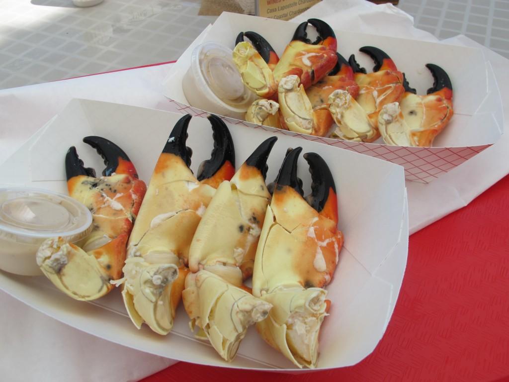Càng stone crab, Key Largo