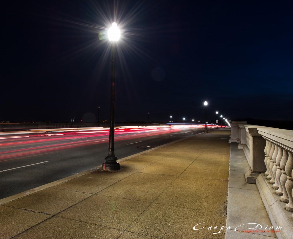 1 góc nhỏ của cây cầu Memorial Bridge