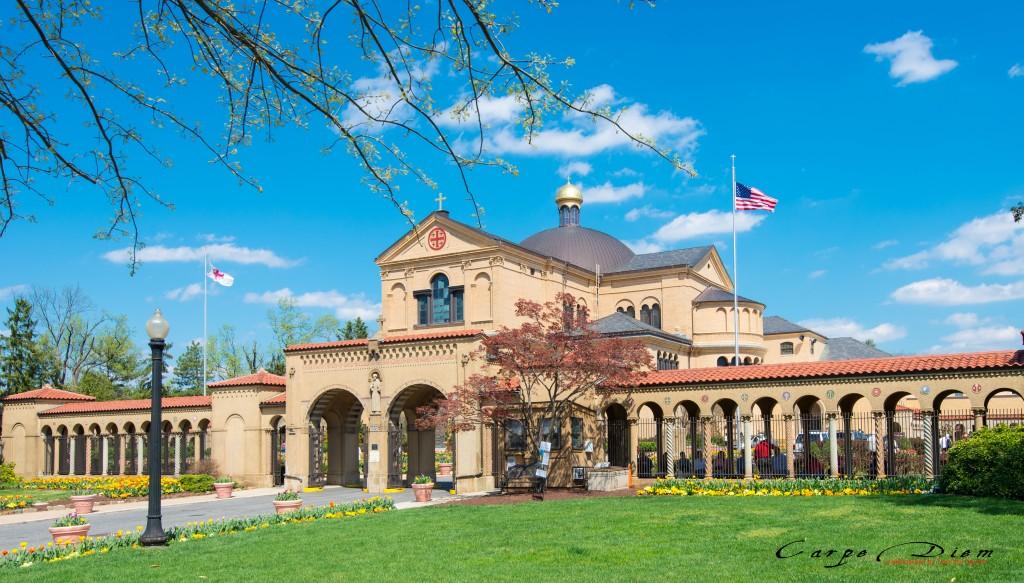 Nhà thờ Franciscan Monastery, Washington DC