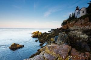 Sáng ở Bass Harbor Lighthouse