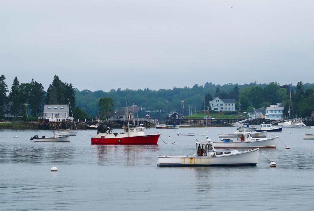 Bến cảnh tàu, Maine