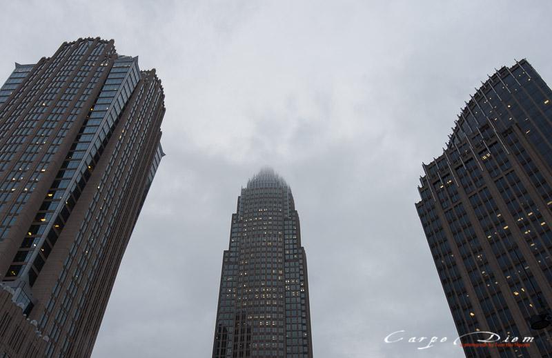 Nhìn lên phố cao, Charlotte, NC