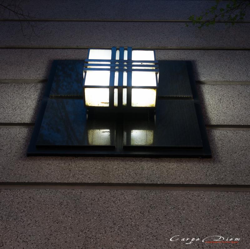 Light on the wall, Charlotte, NC
