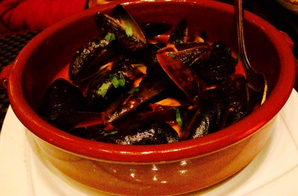 Mussels a la Diabla - with spicy tomato sauce