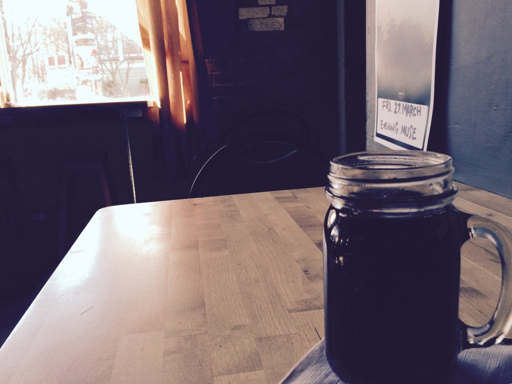 Early morning at Daily Press Cafe