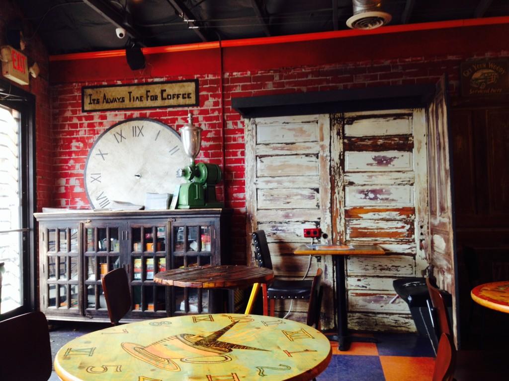 Nét xưa xưa của quán cafe Smelly Cat