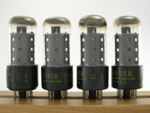 Fisher 7591 tubes