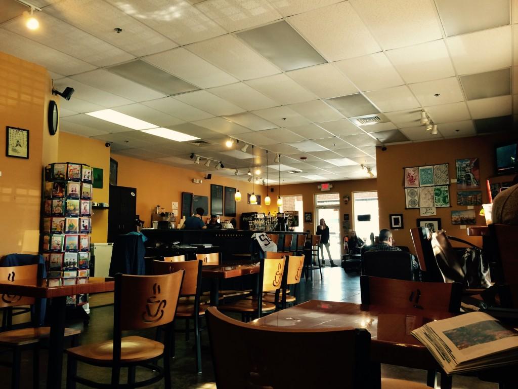 quán café nhỏ