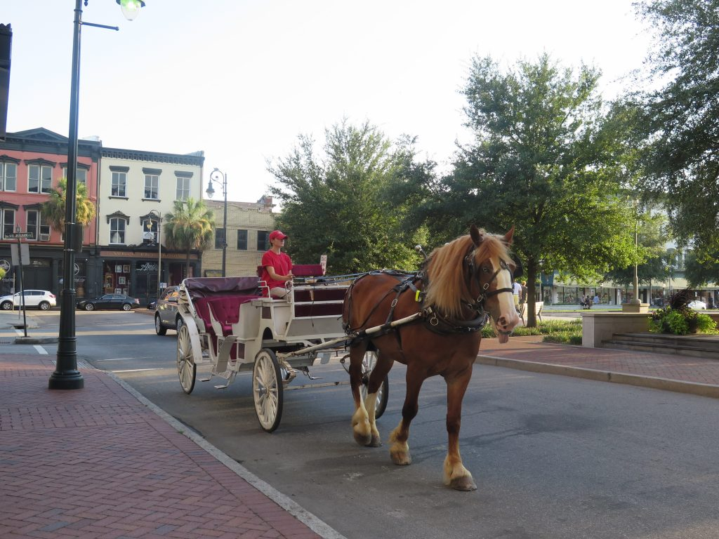 phố cổ Savannah